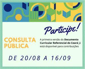Cartaz da Consulta Pública